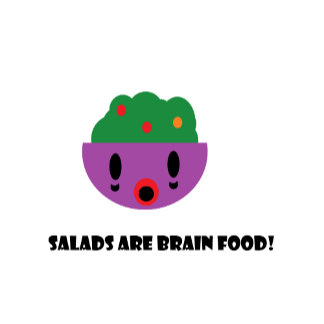 Salads are Brain food