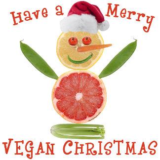 Merry Vegan Christmas T-shirts, Gifts, Decor