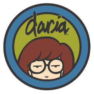 Daria Circle Logo Green/Blue