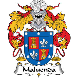 Maluenda Family Crest
