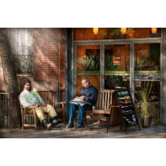 City - Greenwich Village - The path cafe