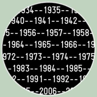 Geek Zodiac Gear by Year
