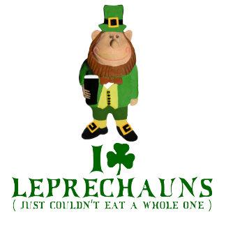 I love Leprechauns Irish shirts for St Patty's Day