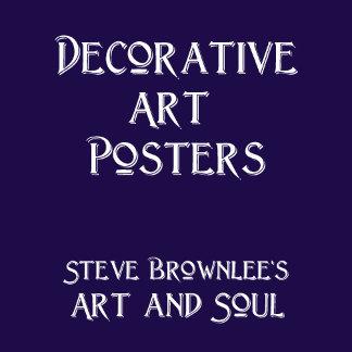 Decorative Art Posters