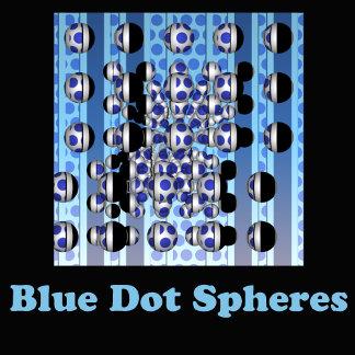 Blue Dot Spheres