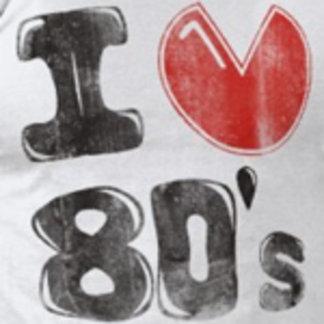 80s Music logos | Cool 80s tees | Eighties tshirts