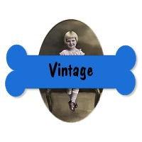 Restored Vintage Dog Photos and Postcards