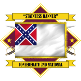 """Confederate Second National """"Stainless Banner"""""""