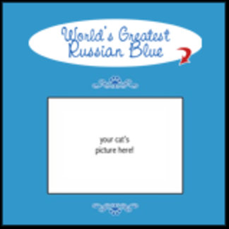 Personalized World's Greatest Russian Blue