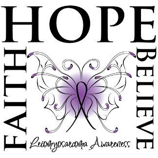 Hope Believe Faith - Leiomyosarcoma