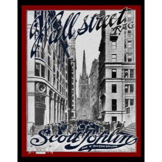 Wall Street Scott Joplin Rag