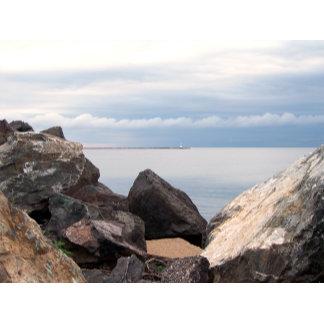 Break Wall On Lake Superior