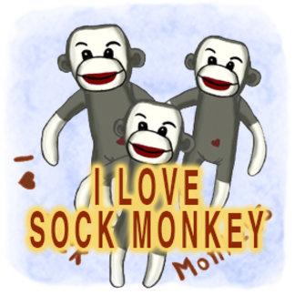 I Love Sock Monkeys