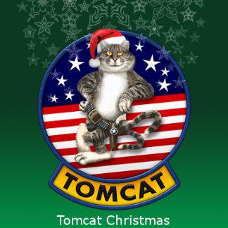 F-14 Tomcat Mascot Christmas