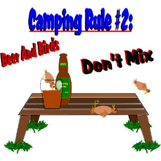Camping Rule #2 (Brown Birds)