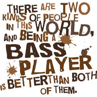 Two People Bass Player