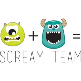 Mike+Sulley=Scream Team