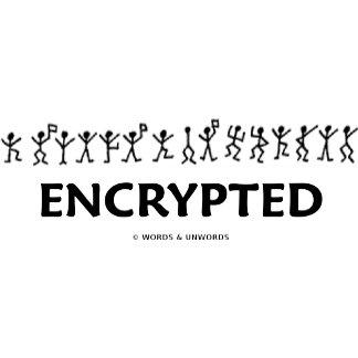 Encrypted (Dancing Men Stick Figures Cipher)