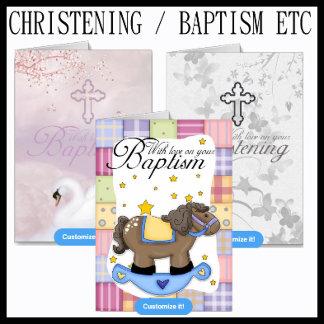 Christening / Baptism etc