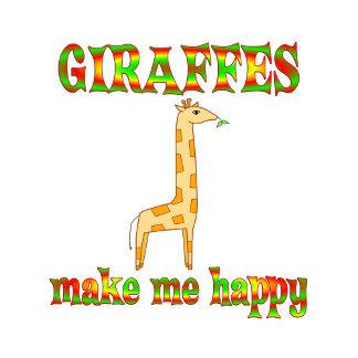 Giraffes Make Me Happy