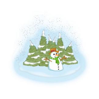 Frosty in Field