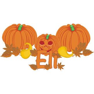 Pumpkin Eli Personalized Halloween