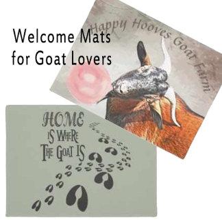 Goat Welcome DoorMats