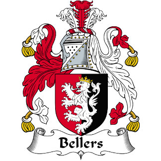 Bellers Family Crest / Coat of Arms