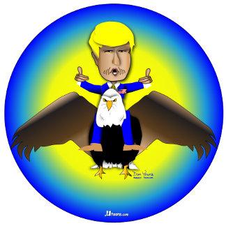 Trump Flies On Eagle