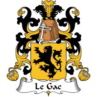 Le Gac Family Crest