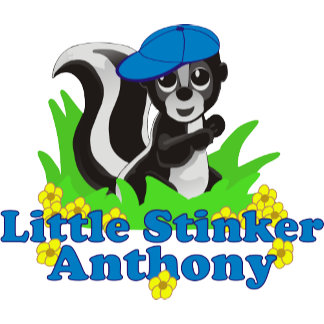 Little Stinker Anthony Personalized