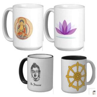 Buddha Mugs & Bottles