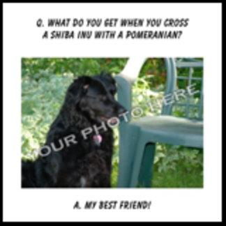 Best Friend Customizable Shiba Inu Mix Design