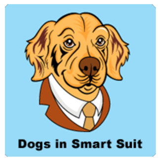 Dogs in Smart Suit