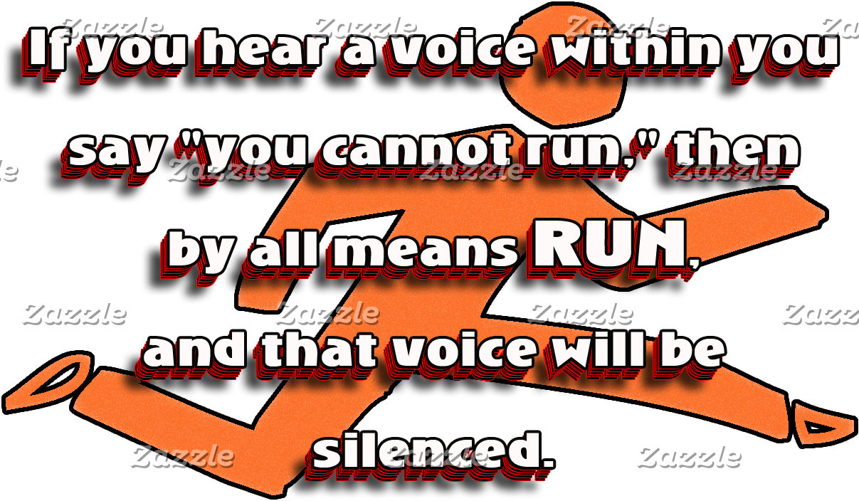 RUN - Silence the Voice  Inspirational CC