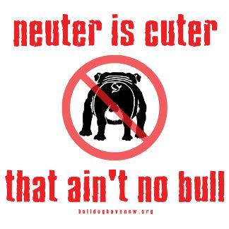 Neuter is Cuter