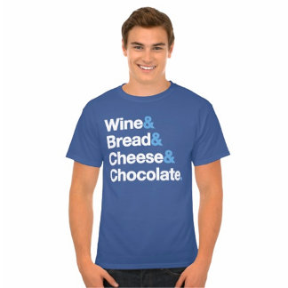 Wine Bread Cheese Chocolate