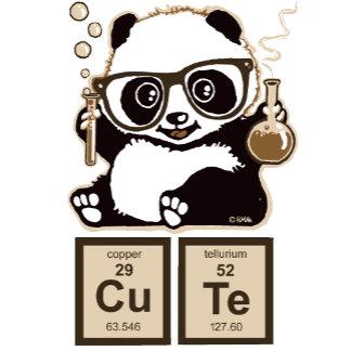 Chemistry panda discovered cute