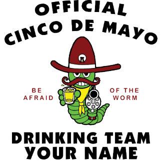 Cinco de Mayo Drinking Team Personalized