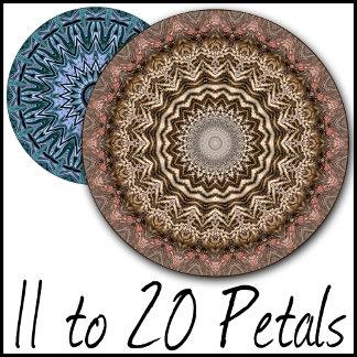11 to 20 Petal Kaleidoscopes