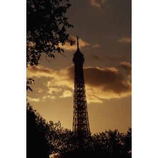 Eiffel Tower at sunset, Paris, France