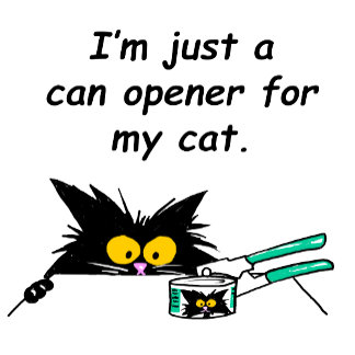 CAN OPENER for my CAT