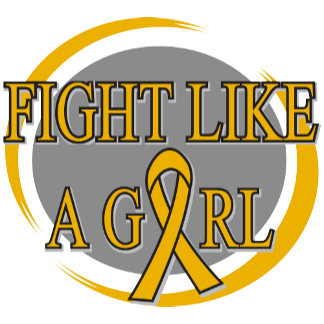 Appendix Cancer Fight Like A Girl Circular