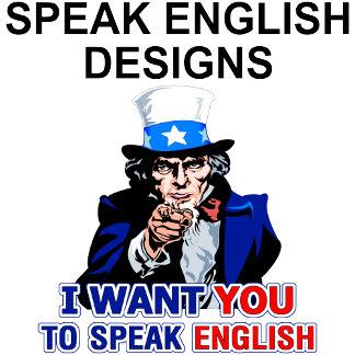 Speak Englsih Designs