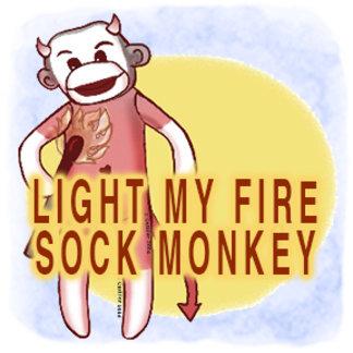Light My Fire Sock Monkey