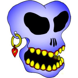Blue Skull-1