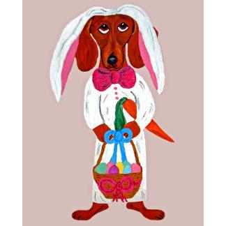 Dachshund Easter Bunny