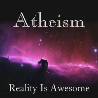 Atheism, reality is awesome - horsehead nebula