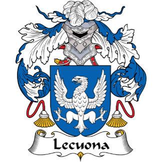 Lecuona Family Crest