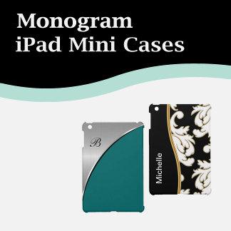 Monogram iPad Mini Cases